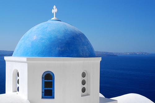 Santorini Kreikan saari matkat ja nähtävyydet - source:http://www.flickr.com/photos/marcelgermain/3041101310/